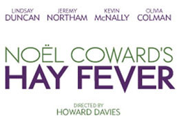 Hay Fever at the Noel Coward Theatre London