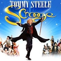 scrooge starring Tommy Steele at the London Palladium 2012