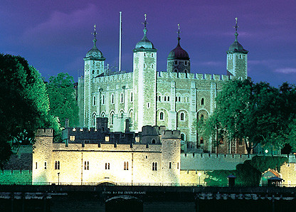 The Tower of London Breaks