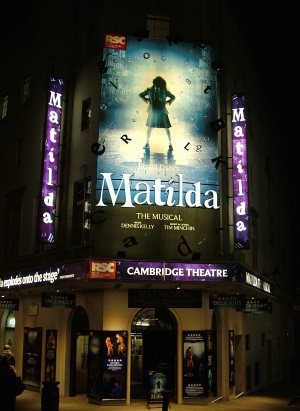 Matilda - great for half term theatre breaks