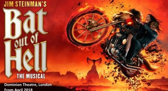 Bat out of Hell Dominion Theatre London 2018