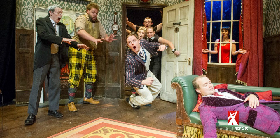 The play that goes wrong a sunday matinee after a vegan Sunday lunch