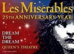 Les Miserables at the Queens' Theatre