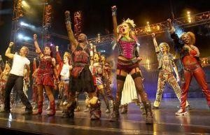 We Will Rock You at the Dominion Theatre, London