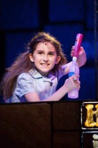 Matilda at the Cambridge theatre, London