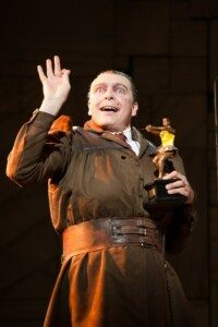 Mrs Trunchbull in Matilda at the Cambridge theatre, London