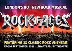 Rock of Ages Theatre Breaks at the Shaftesbury Theatre London