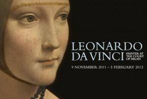 Leonardo Da Vinci exhibition logo