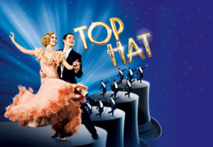 Show logo for Top Hat at the Aldwych Theatre London