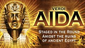 Logo for Aida at the Royal Albert Hall 2012