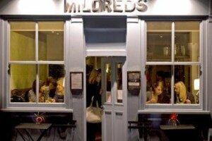 The Outside of Mildred's in Soho