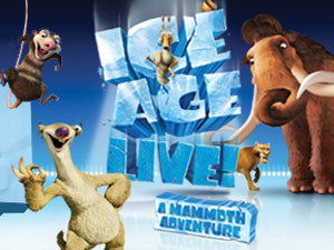 ice age on stage at London's Wembley Arena