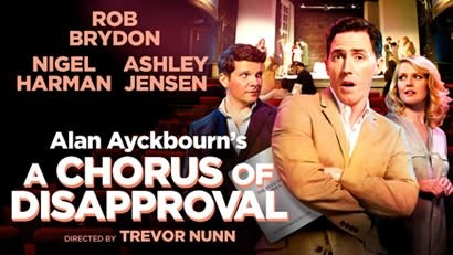 A Chorus of Disapproval by Alan Ayckbourn (Paperback, 1985)