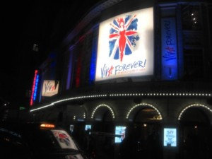 Viva Forever at the Piccadilly Theatre
