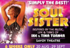 Soul Sister at the Savoy Theatre London for London theatre Breaks