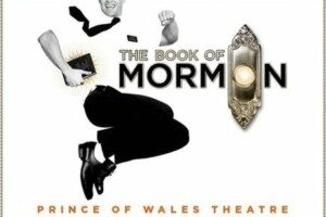 The book of Mormon at teh prince of Wales for london Theatre Breaks