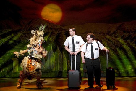 The book of Mormon coming to the Prince of Wales Theatre for London Theatre Breaks
