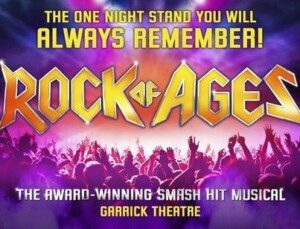 rock of ages theatre breaks at the garrick theatre london