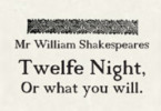 twelfth night theatre breaks