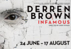 Deren brown infamous and tickets and hotel accommodation in London