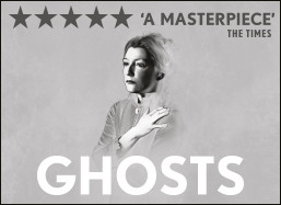 Ghosts theatre breaks in London in 2014