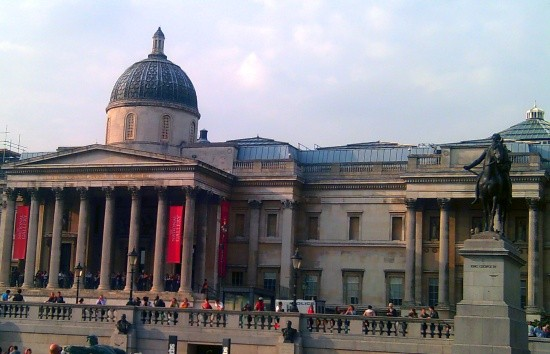 national gallery - it's free for visitors to London