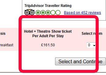 family theatre breaks prices
