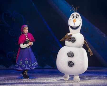 disney on ice presents frozen theatre breaks