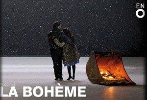 Opera breaks in London - la Boheme