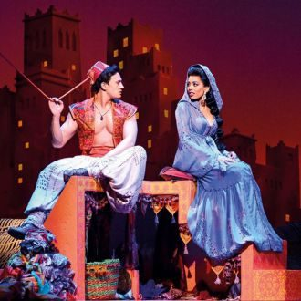 Aladdin Theatre Breaks - aladdin and jasmin share their dreams in Aladdin theatre breaks in London