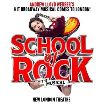 schoolof rock theatre breaks in london