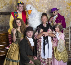 Roy Hudd in Mother Goose at Wilton's Music Hall