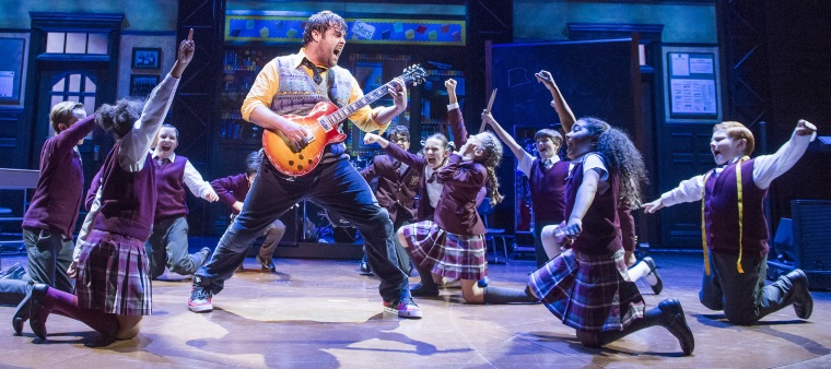 Father's Day Idea: School of Rock Review at the New London Theatre