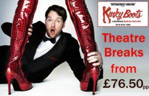 Kinky Boots Theatre Breaks