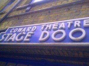 Theatre Quiz: guess the London Theatre Stage Door