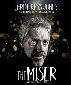 grif rhys jones in the miser theatre breaks