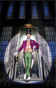 Willy Wonka - the most aspirational character for theatregoing men