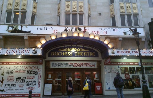 Duchess Theatre, London's Friendliest Theatre