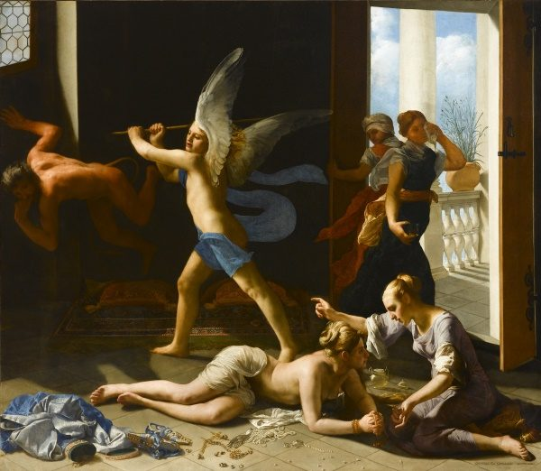 X9135 Guido Cagnacci The Repentant Magdalene After 1660 Oil on canvas 229.2 x 266.1 cm © Norton Simon Art Foundation