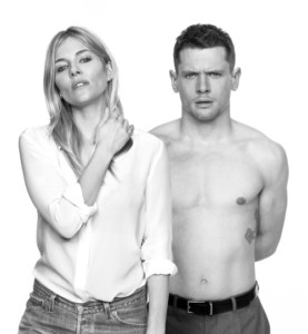 Cat on a Hot Tin Roof - l-r Sienna Miller, Jack O'Connell, photo Charlie Gray