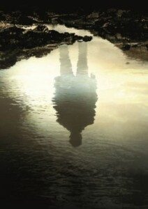 The Ferryman - reflected image in water