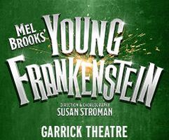Ross Noble and Lesley Joseph in Young Frankenstein