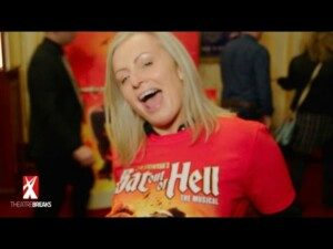 audience go wild for Bat Out of Hell