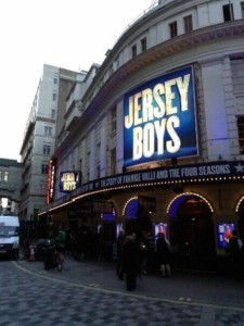 Piccadilly Theatre, currently home to Jersey Boys, soon to host Annie