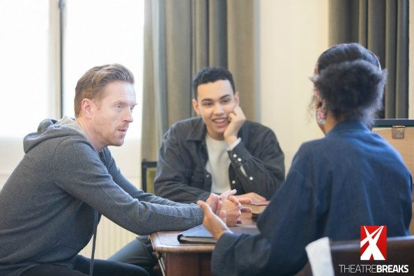 Edward Albee's The Goat, Or Who Is Sylvia - Damian Lewis, Archie Madekwe , Sophie Okonedo Credit Johan Persson