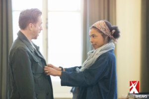 Damian Lewis and Sophie OkonedoCredit Johan Persson