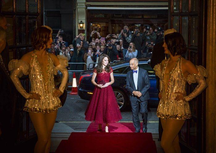 HRH Duchess of Cambridge at 42nd Street Photo: Matt Crockett