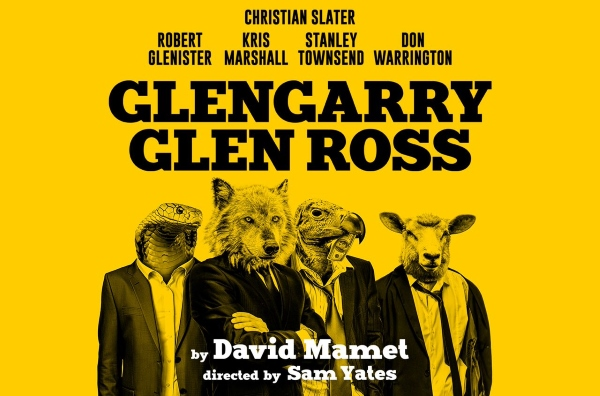 Glengarry Glen Ross at the Playhouse theatre London