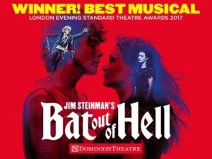 Bat out of hell theatre breaks 2019