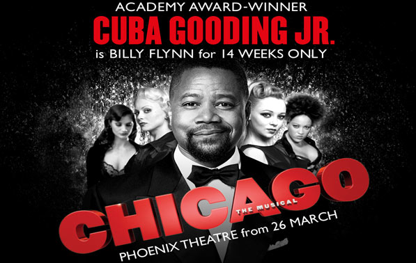 Cuba Gooding Junior Stars in Chicago